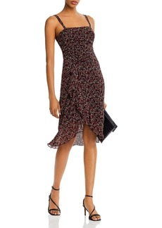 AQUA Ruched High/Low Hem Dress - 100% Exclusive
