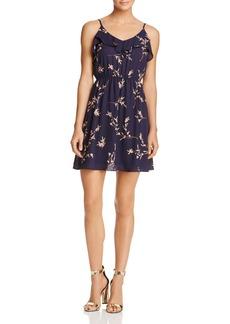 AQUA Ruffle Floral Print Dress - 100% Exclusive