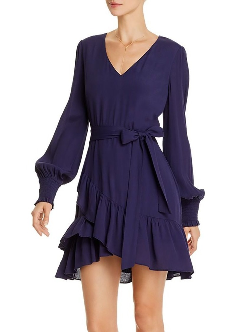 AQUA Ruffle-Hem Dress - 100% Exclusive