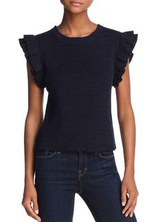 AQUA Ruffle-Sleeve Sweater - 100% Exclusive