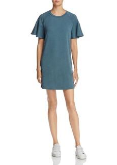 AQUA Ruffle Sleeve T-Shirt Dress - 100% Exclusive