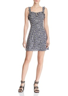 AQUA Ruffle-Trim Leopard Dress - 100% Exclusive