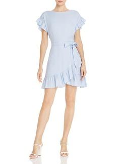 AQUA Ruffle-Trim Tie-Waist Dress - 100% Exclusive