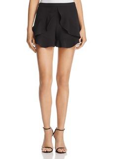 AQUA Ruffle-Trimmed Shorts - 100% Exclusive