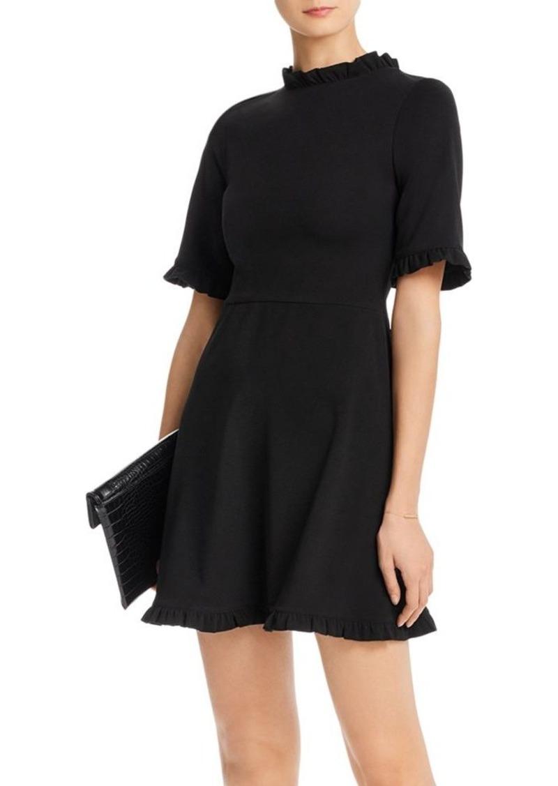 AQUA Ruffled A-Line Dress - 100% Exclusive