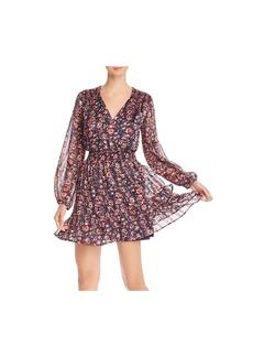 AQUA Ruffled Floral Paisley Dress - 100% Exclusive