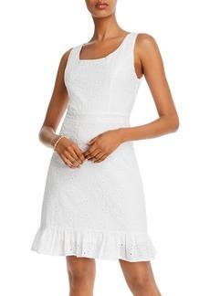 AQUA Ruffled Hem Dress - 100% Exclusive