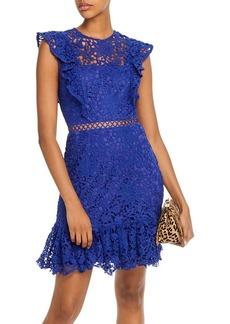 AQUA Ruffled Lace Dress - 100% Exclusive