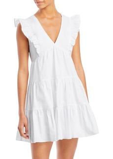 AQUA Ruffled Mini Dress - 100% Exclusive
