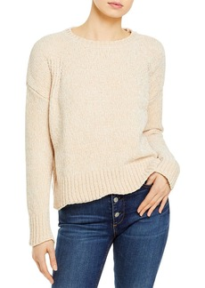 AQUA Scallop Edge Chenille Sweater - 100% Exclusive