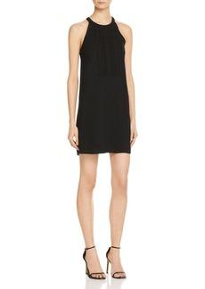 AQUA Scalloped Bib Front Shift Dress - 100% Exclusive