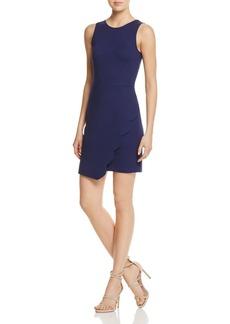 AQUA Scalloped Scoop Back Dress - 100% Exclusive