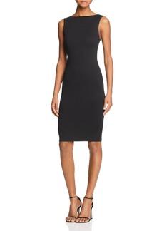 AQUA Scoop-Back Body-Con Dress - 100% Exclusive