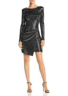 AQUA Sequined Hologram Dress - 100% Exclusive