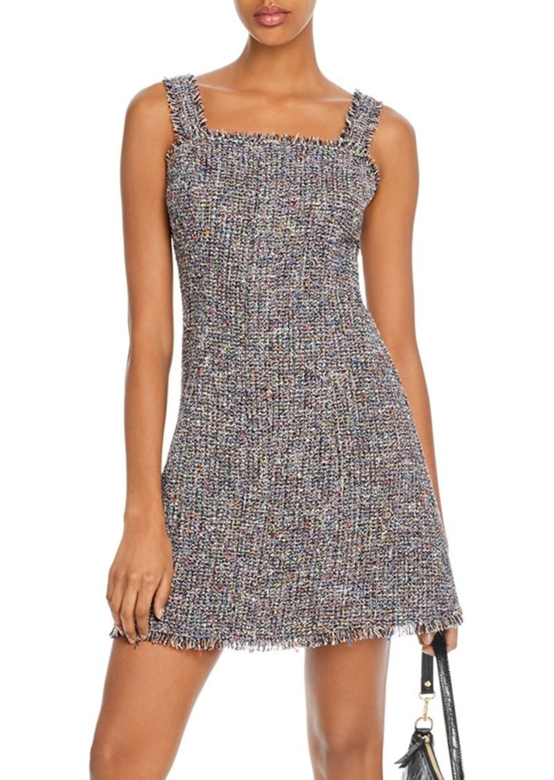 AQUA Sequined Tweed Dress - 100% Exclusive