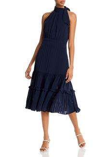 AQUA Shadow Striped Dress - 100% Exclusive