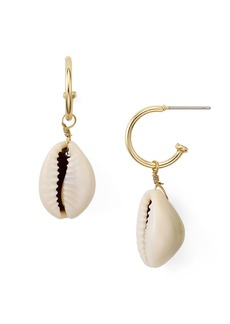AQUA Shell Earrings - 100% Exclusive