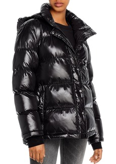 AQUA Short Hooded Puffer Coat - 100% Exclusive