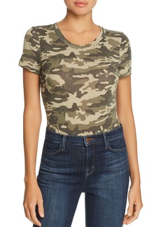 AQUA Short-Sleeve Camouflage-Print Bodysuit - 100% Exclusive