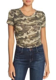AQUA Short-Sleeve Camouflage-Print Bodysuit - 100% Exclusive