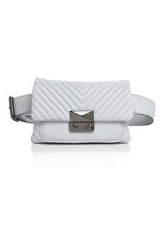 AQUA Skinny V Quilt Belt Bag - 100% Exclusive
