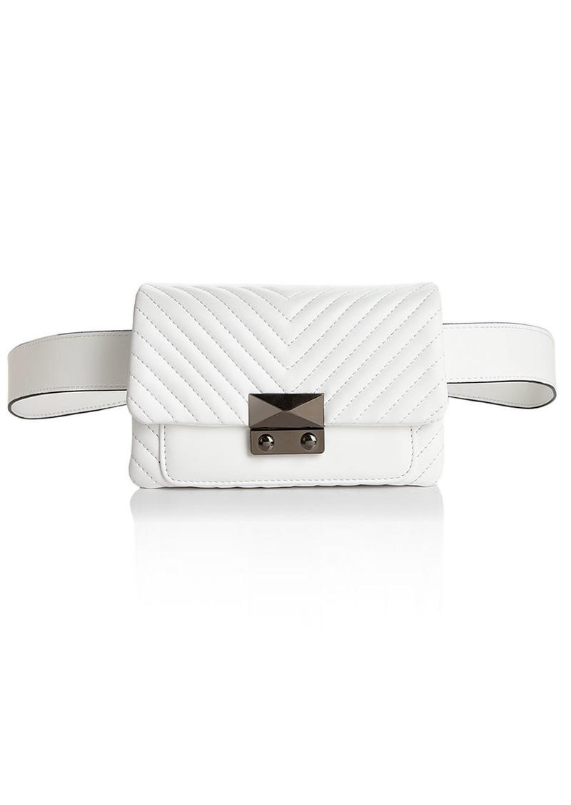Aqua AQUA Skinny V Quilt Belt Bag - 100% Exclusive   Handbags cfced18774