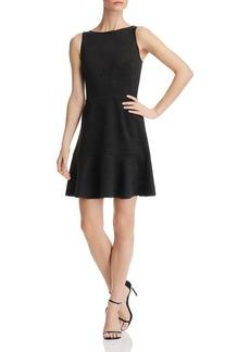 AQUA Sleeveless Faux-Suede Dress - 100% Exclusive