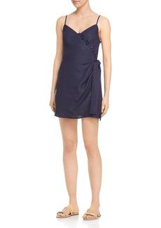 AQUA Sleeveless Wrap Dress - 100% Exclusive