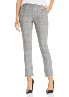 AQUA Slim Plaid Pants - 100% Exclusive