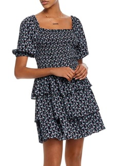 AQUA Smocked Tiered Dress - 100% Exclusive