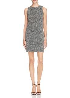 AQUA Space-Dye A-Line Dress - 100% Exclusive