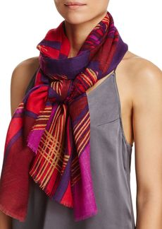 AQUA Spliced Geometric Scarf - 100% Exclusive