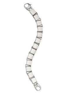 AQUA Square Link Bracelet in Sterling Silver - 100% Exclusive