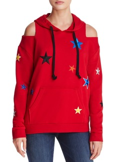 AQUA Star Cold-Shoulder Hooded Sweatshirt - 100% Exclusive