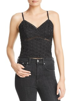 AQUA Star Lace Bustier Top - 100% Exclusive
