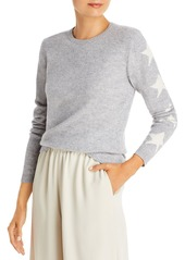AQUA Star Sleeve Cashmere Sweater - 100% Exclusive