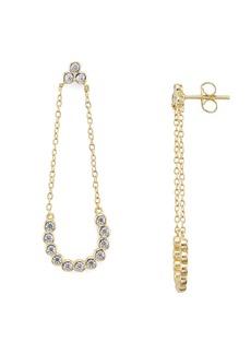 AQUA Sterling Silver Chain Drop Earrings - 100% Exclusive