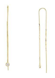 AQUA Sterling Silver Dangling Threader Earrings - 100% Exclusive