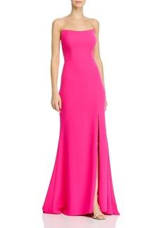AQUA Strapless Gown - 100% Exclusive