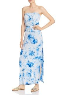 AQUA Strapless Tie-Dye Maxi Dress - 100% Exclusive