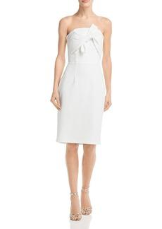 AQUA Strapless Twist-Front Dress - 100% Exclusive