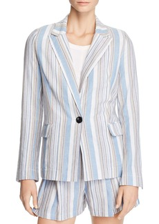 AQUA Striped Blazer - 100% Exclusive