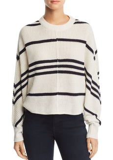 AQUA Striped Dolman-Sleeve Sweater - 100% Exclusive