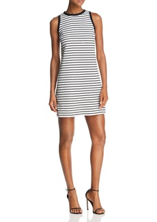 AQUA Striped Sheath Dress - 100% Exclusive