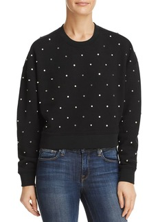 AQUA Studded Sweatshirt - 100% Exclusive