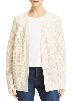 AQUA Textured Cable Knit Cardigan - 100% Exclusive
