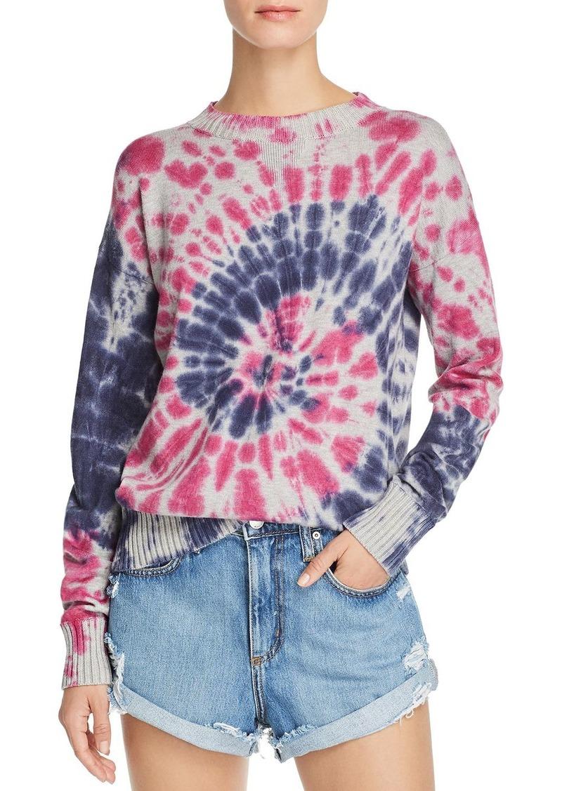 AQUA Tie-Dye Crewneck Sweater - 100% Exclusive