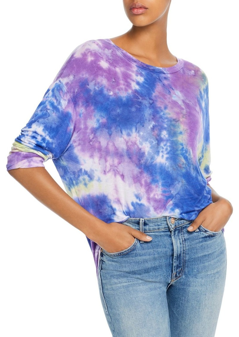 AQUA Tie-Dye Drop-Shoulder Tee - 100% Exclusive