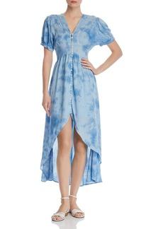 AQUA Tie-Dye High/Low Dress - 100% Exclusive