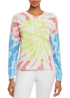AQUA Tie-Dye High/Low Sweater - 100% Exclusive